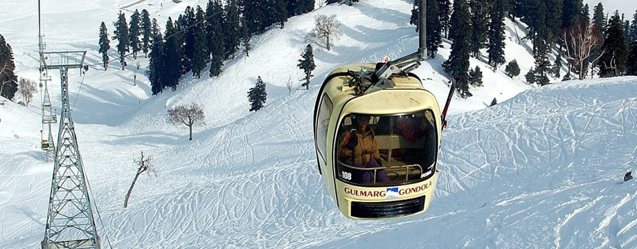 gondola best place to visit in kashmir